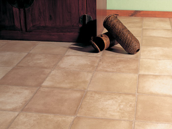 luxury kitchen vinyl tile installation in The Woodlands