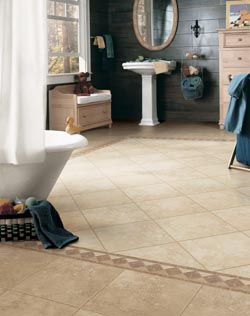 waterproof flooring in the woodlands, tx