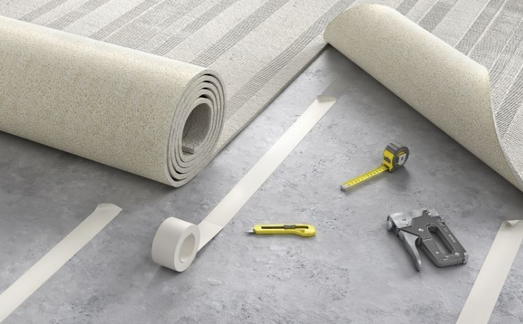Tile and Carpet Flooring Installation Process